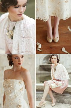 RUCHE BRIDAL COLLECTION PREVIEW | Vintage-Inspired Dresses, Shoes and Accessories.