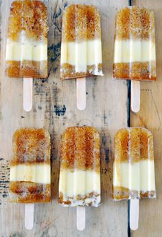 Rootbeer Popsicles!
