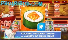 تحميل لعبة ماستر الطبخ السوشي Sushi Master Cooking Story النسخة المعدلة للاجهزة الاندرويد باخر تحديث يستخدم قصة طبخ السوشي ماست Sushi Master Sushi Cooking