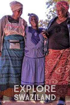 Make the best out of your time in Swaziland. What to eat, see, and do in The Kingdom of Swaziland.