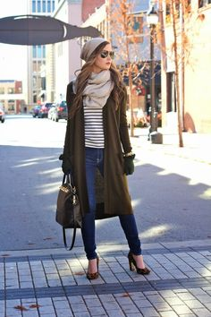 Cardigan: Nordstrom | Top: Nordstrom {similar + love this} | Jeans: 7FAM via Nordstrom |...