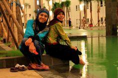 @IvaYenis at Puncak Kertajaya Indah Apartment's Pool.