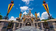 Sleeping Beauty Castle Dresses Up In Style At Hong Kong Disneyland