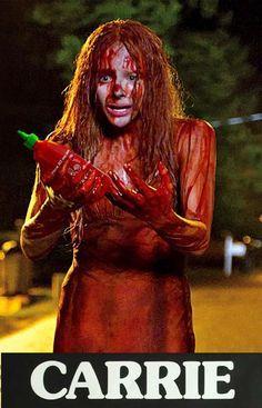 Sriracha Carrie movie poster