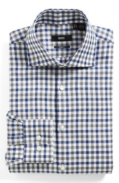 BOSS HUGO BOSS Sharp Fit Dress Shirt | Nordstrom