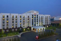 Springhill Suites By Marriott Newark Liberty International - Newark NJ A sparkling indoor pool, a speedy airport shuttle and freebies like Wi-Fi make the non-smoking Springhill Suites By Marriott Newark Liberty International one of the area's most popular hotels among our guests.