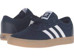 adidas Skateboarding Adi-Ease J (Little Kid/Big Kid) Skate Shoes Collegiate Navy/White/Gum4 : 12 Little Kid M
