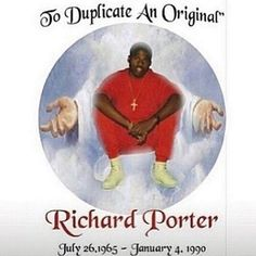 Peace & Blessing continue to watch over HARLEM ... #rip #richporter