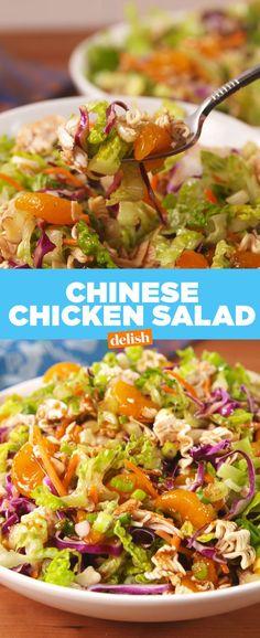 Chinese Chicken Mandarin Salad  - Delish.com