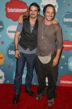 Colin O'Donoghue and Michael Raymond-James