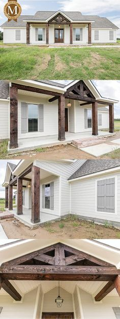 Available Floor Plans in Louisiana Custom - Living Sq Ft: Bedrooms: 3 Baths: Louisiana Lafayette Lake Charles Baton Rouge House With Porch, House Front, My House, Front Porch, Cottage House, Cottage Style, Farm House, Building A Porch, Building A House