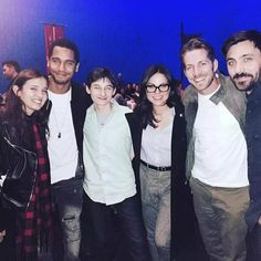 The awesome cast of Once #Once #BTS Vancouver BC Sunday 9-27-15