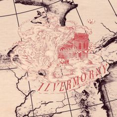 Wizarding School Ilvermorny with name