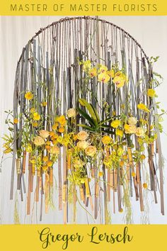 Spring Flower Arrangements, Spring Flowers, Fruit Flowers, Yellow Flowers, Gregor Lersch, Art Decor, Home Decor, Floral Design, Wreaths