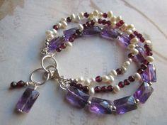 Image result for gemstone beaded bracelets