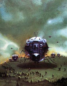 Paul Lehr - Starship Trooper