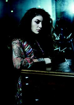"""""""Lorde Almighty"""", September 29 issue. Starring Lorde. Styled by Rachel Wayman and shot by Pierre Toussaint."""