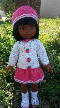 Mes Loisirs Créatifs: Chérie et Paola Reina les poupées : tricot