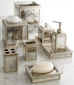 Horchow Palazzo Vintage Vanity Accessories