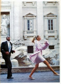 Roman Holiday by Arthur Elgort December 1994 Vogue US by eula