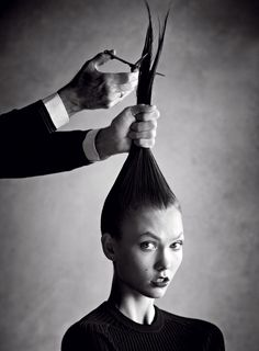 Vogue US January by Patrick Demarchelier