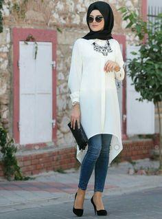 Fashion hijab casual beautiful 17 Ideas - Fashion hijab casual beautiful 17 Ideas The Effective Pictures We Offer You About fashion - Hijab Casual, Hijab Chic, Hijab Outfit, Stylish Hijab, Casual Outfits, Hijab Gown, Casual Clothes, Islamic Fashion, Muslim Fashion