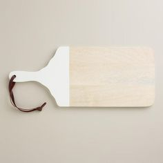 One of my favorite discoveries at WorldMarket.com: White Dipped Cutting Board