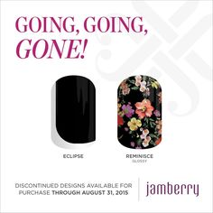 Going, Going, Gone wraps will be available until August 31, 2015!!  #EclipseJN #Reminisce