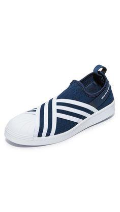 X adidas Originals superstar sneakers, blanco