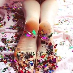 It is the end of the weekend and we are partied out !!!! . . . . . . . . . . . . . . . . . . . . . . . #lovesparkleshine #loveandpieces #sparkle #weekend #end #partied #out #pooped #goodnight #sleeptight #fresh #week #confetti #springbreak #always #something #local #miamibeach #regram #obsessed #fashionblogger #ootd #lotd