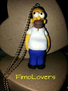 """Collana """"Homer""""della setie I Simpson"""