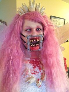 Evil Tooth Fairy costume by Zanna Haines #fxmakeup.  Awwwwesooommme.
