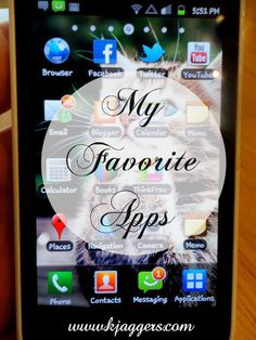 My Favorite Android Apps! ~ The Glamorous French Housewife