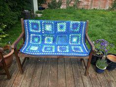 Sea blue blanket
