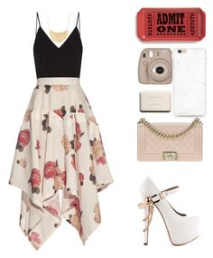 """"""""""" by mel2016 ❤ liked on Polyvore featuring Raey, A.W.A.K.E., Fishs Eddy, Fujifilm, Chanel, Forever 21 and ZiGiny"""