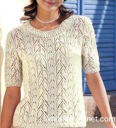 Knitting, Lace, Tops, Women, Fashion, Moda, Tricot, Fashion Styles, Breien