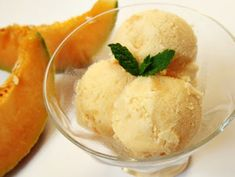 Citromhab: Sárgadinnye fagyi Hungarian Recipes, Hungarian Food, Frozen Yogurt, Sorbet, Gelato, Parfait, Fudge, Muffin, Pudding