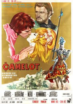 Poster for 'Camelot' ... Camelot Movie, Film Et, Film Movie, Old Movie Posters, Movie Poster Art, Cinema Posters, Vanessa Redgrave, Old Movies, Great Movies
