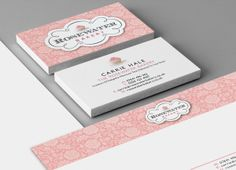 Rosewater Bakery Branding & Identity Design by Geoff Goode, via Behance