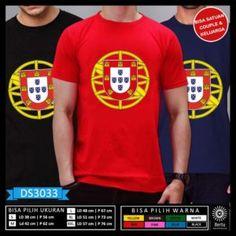 T-Shirt Piala Dunia Rusia 2018 Portugal