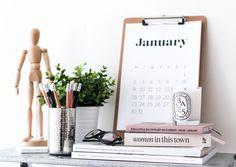 Printable 2017 Calendar Free