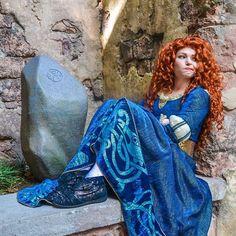 Disney Nerd, Disney Marvel, Disney Girls, Merida Disney, Brave Merida, Disney Princess Cosplay, Disney Cosplay, Disney Costumes, Halloween Cosplay