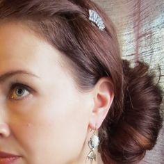 Crystal Baguette Hair Comb | Chloe + Isabel