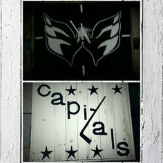 Capitals clock and wallart