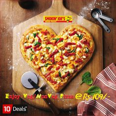 One #pizza slice a day keeps sadness away!! In Rs.109, get any veg / nonveg regular pizza at Smokin' JOE'S PIZZA Chandigarh. Hurry up and grab your #pizzadeal now. #10Deals #Pizzadeals #pizzaoffers #Chandigarh #Mohali #Panchkula