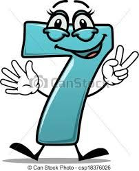 Happy number 7 making a victory sign. Cartoon cute happy laughing number 7 seven making a victory or peace sign with its fingers, suitable for a kids birthday, on white. Happy Number, Number 7, Small Business Marketing, Business Coaching, 7 Seven, Teaching Math, Teaching Ideas, Copywriting, Letters And Numbers