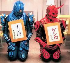 ウラタロス/モモタロス Kamen Rider Zi O, Kamen Rider Series, Manga Games, Power Rangers, Handsome Boys, Chibi, Geek Stuff, Darth Vader, Japan