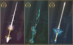 Crystal Wing, sword adopt (CLOSED)  by Rittik-Designs