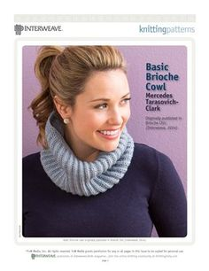 Download Now In Episode 1208, Mercedes Tarasovich-Clark demonstrates how to work brioche knitting in the round with this simple cowl, excerpted from her upcoming book Brioche Chic. About Knitting Daily TV with Vickie Howell Get the entire Series 1200 of Knitting Daily TV with Vickie Howell at Interweave.com. Knitting Daily TV with Vickie Howell is an exciting needle crafts how-to …