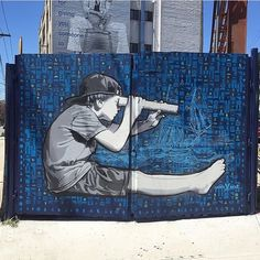 Artist @joeiurato x @thebushwickcollective #bushwick #brooklyn #newyork #nyc #mural #wallart #kid #spraypaint #sprayart #graffiti #arteurbano #streetart #graphicdesign #contemporaryart #urbanart